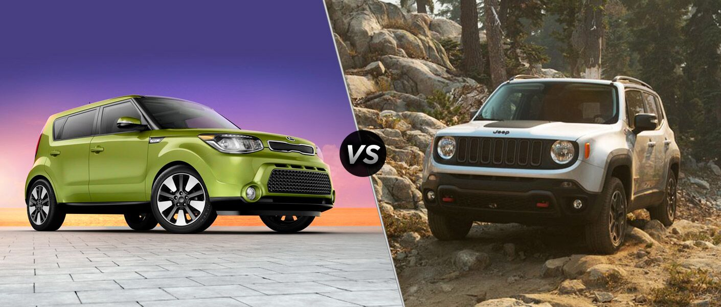 2015 kia soul vs 2015 jeep renegade. Black Bedroom Furniture Sets. Home Design Ideas
