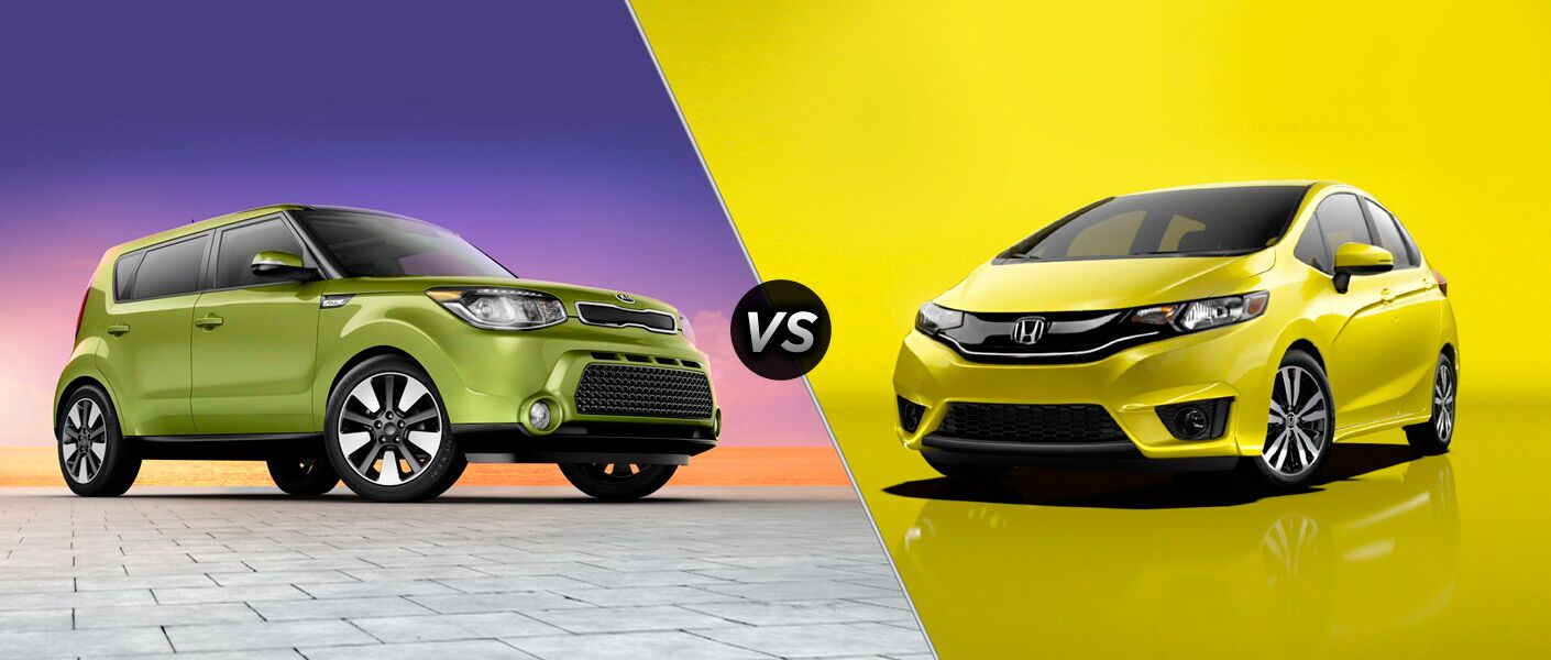 2015 Kia Soul vs 2015 Honda Fit