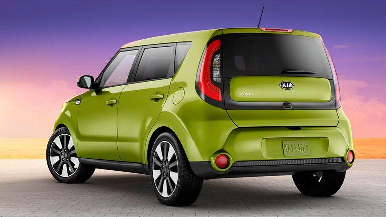 2015 Kia Soul Rear Green