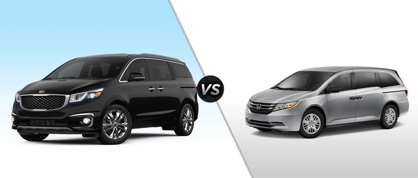 2015 Kia Sedona vs 2015 Honda Odyssey