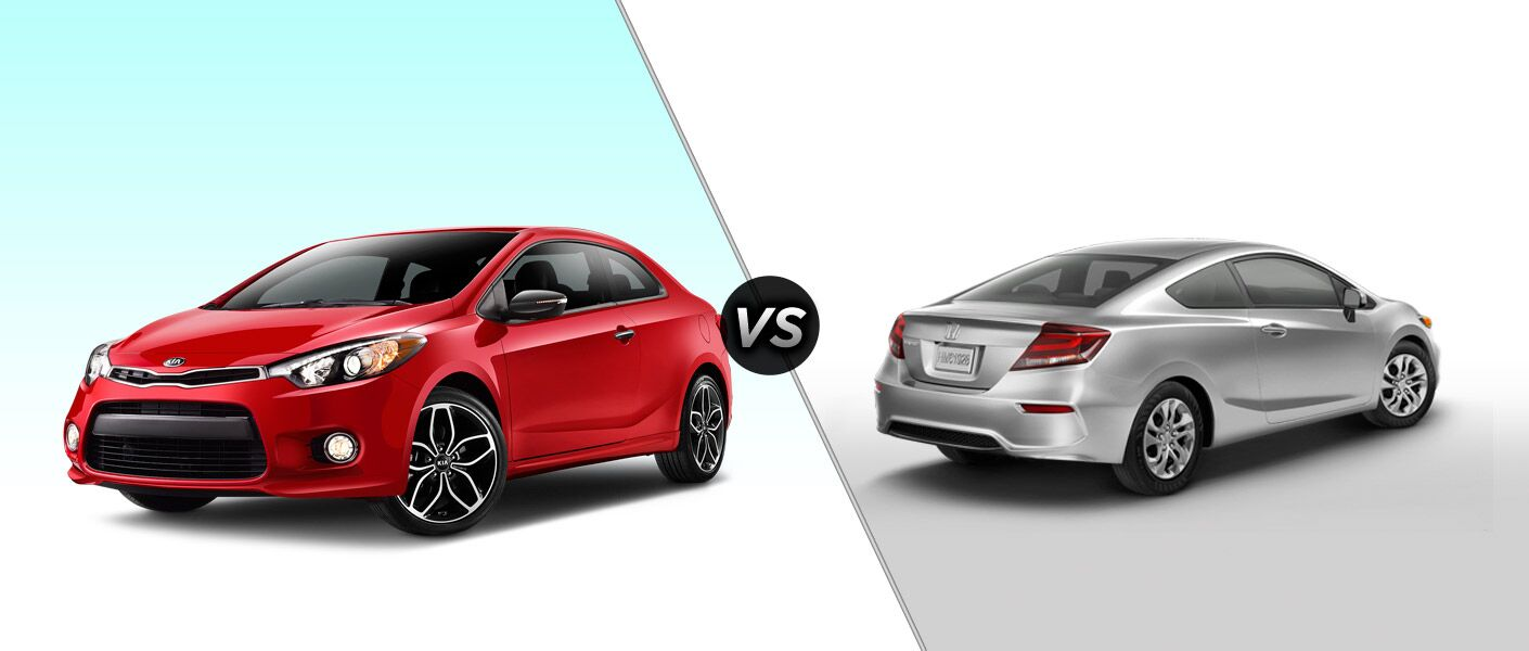 2015 Kia Forte Koup vs 2015 Honda Civic Coupe