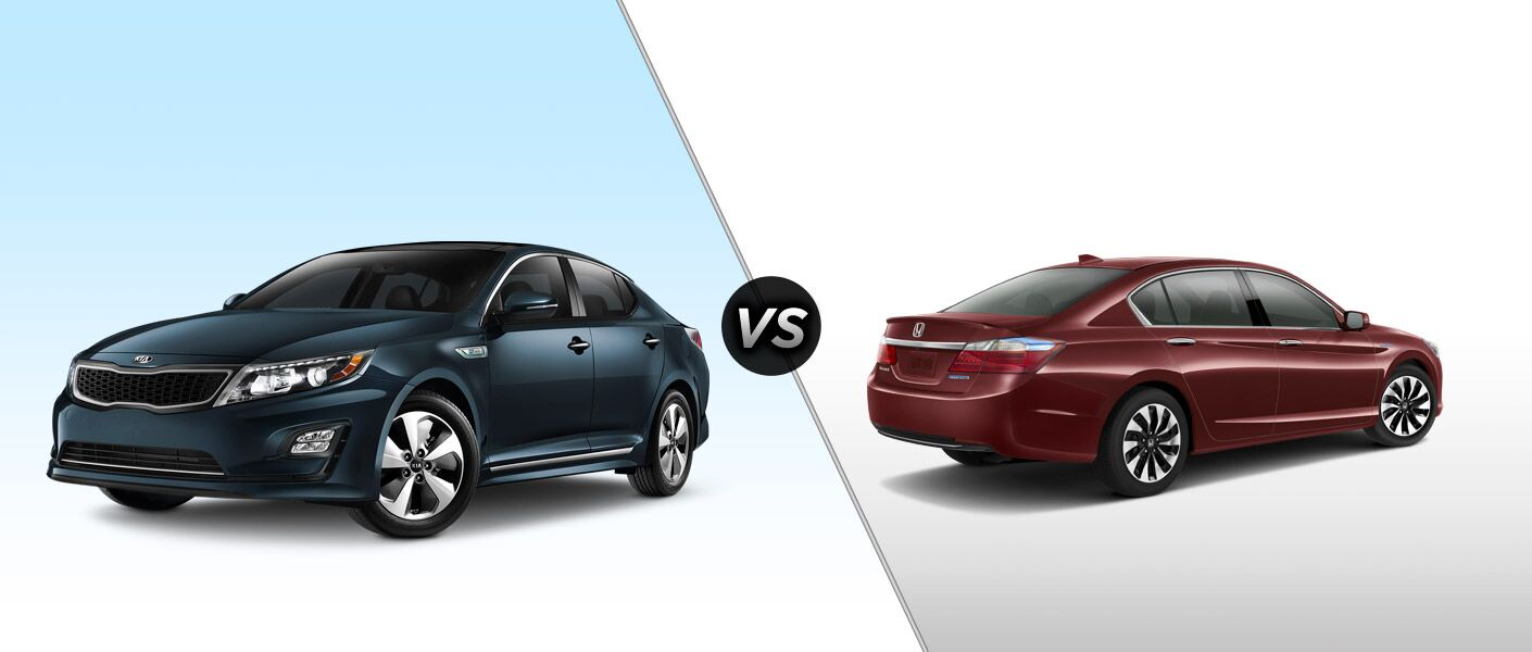 2015 Kia Optima Hybrid vs 2015 Honda Accord Hybrid