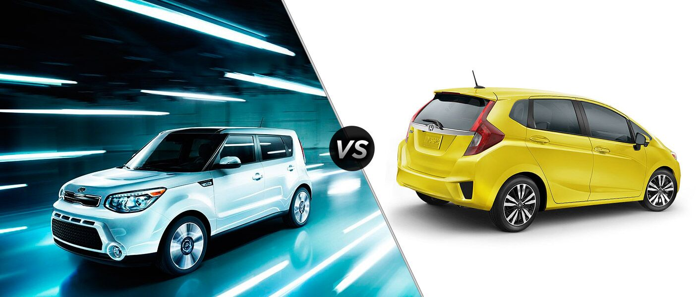 2016 Kia Soul vs 2016 Honda Fit