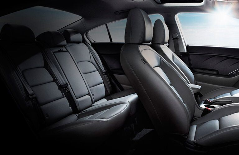 2016 Kia Forte Interior seating space