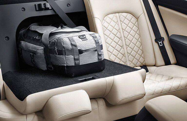 2016 Kia Optima folding rear seating storage