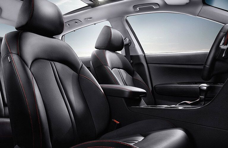 2016 Kia Optima Black Leather Seats