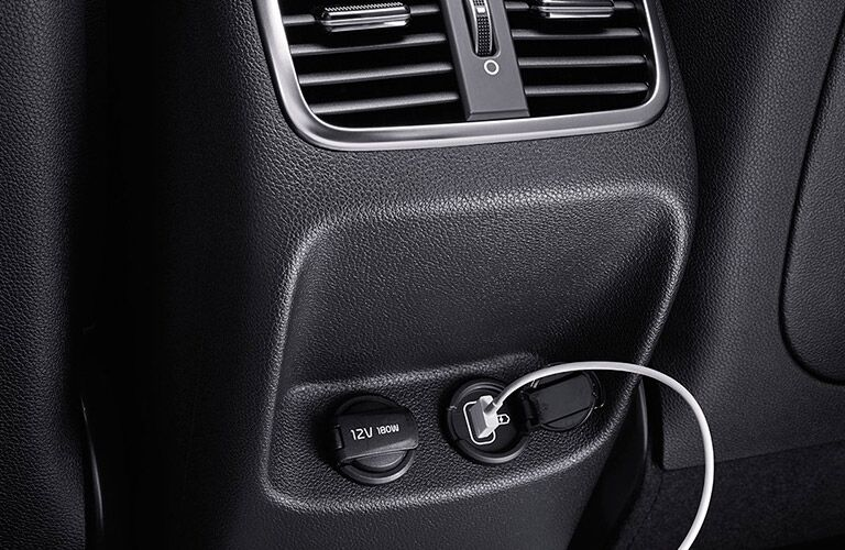 2016 Kia Optima interior USB plug