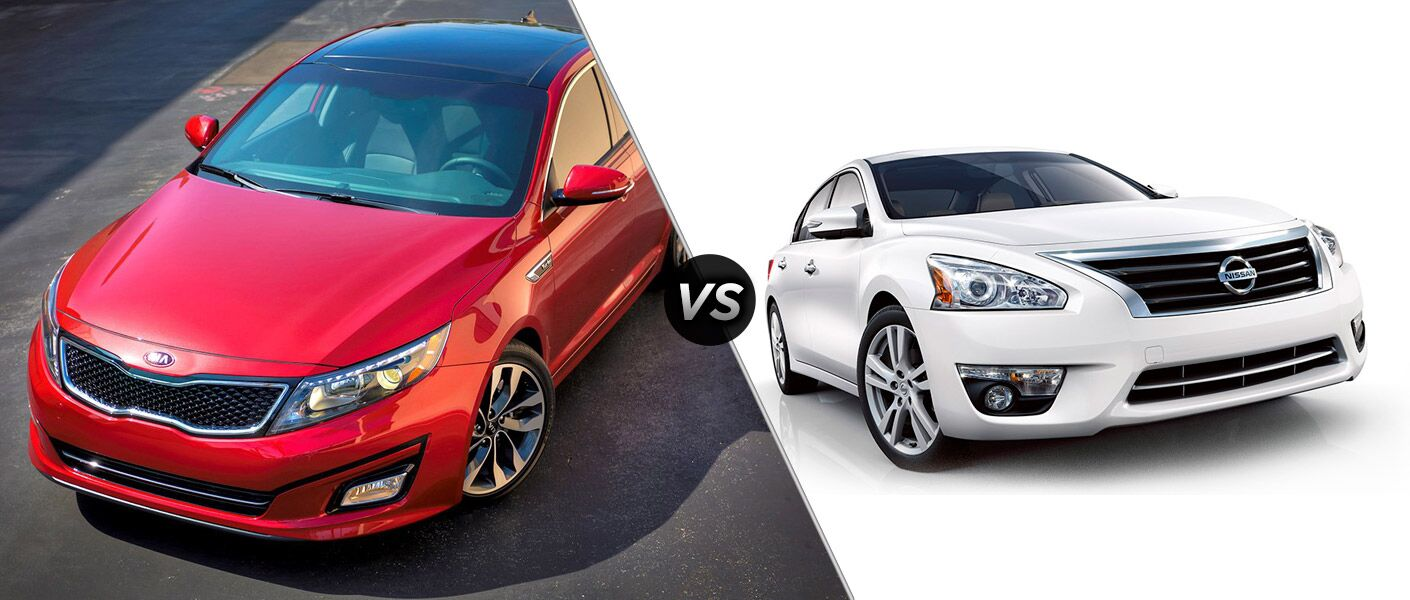 2016 Kia Optima vs 2016 Nissan Altima