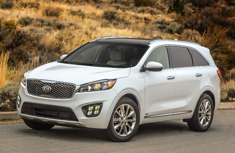 2016 Kia Sorento New Headlights