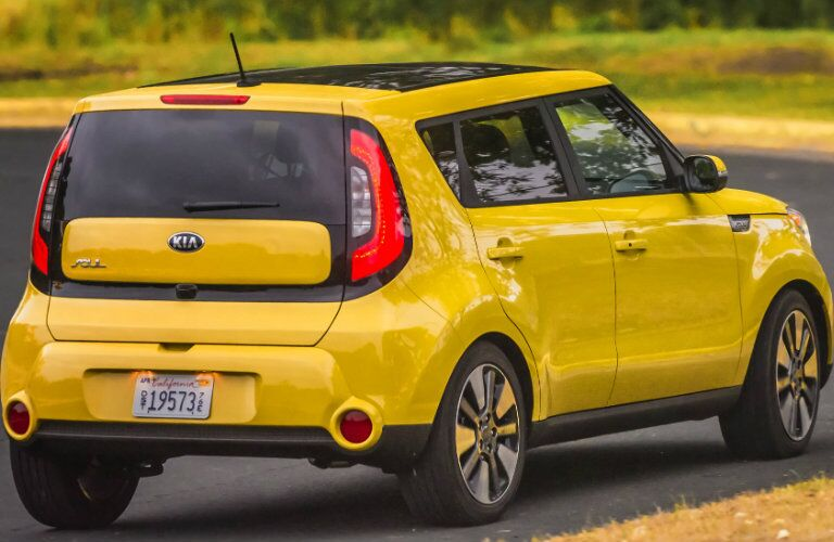 2016 Kia Soul New Taillights