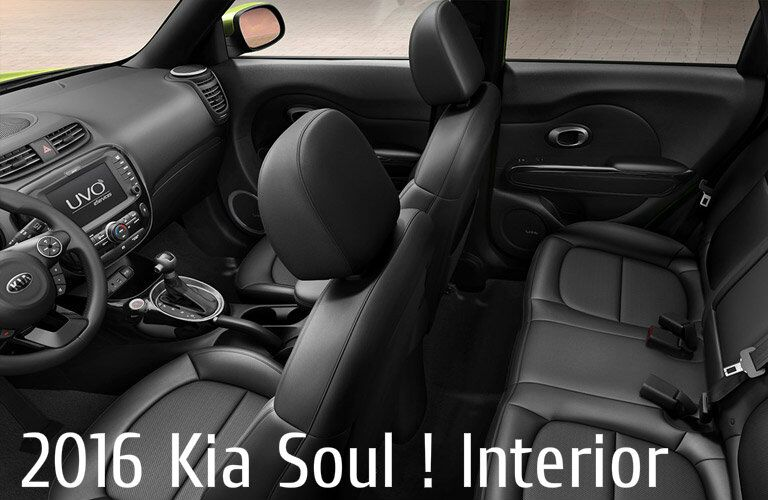 2016 Kia Soul ! Rear Space