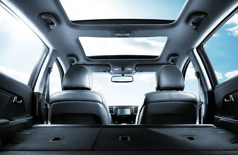 Folded Seats Kenosha WI 2016 Kia Sportage