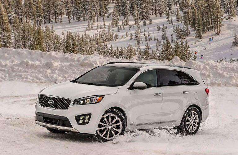 2016 Kia Sorento Snow Handling