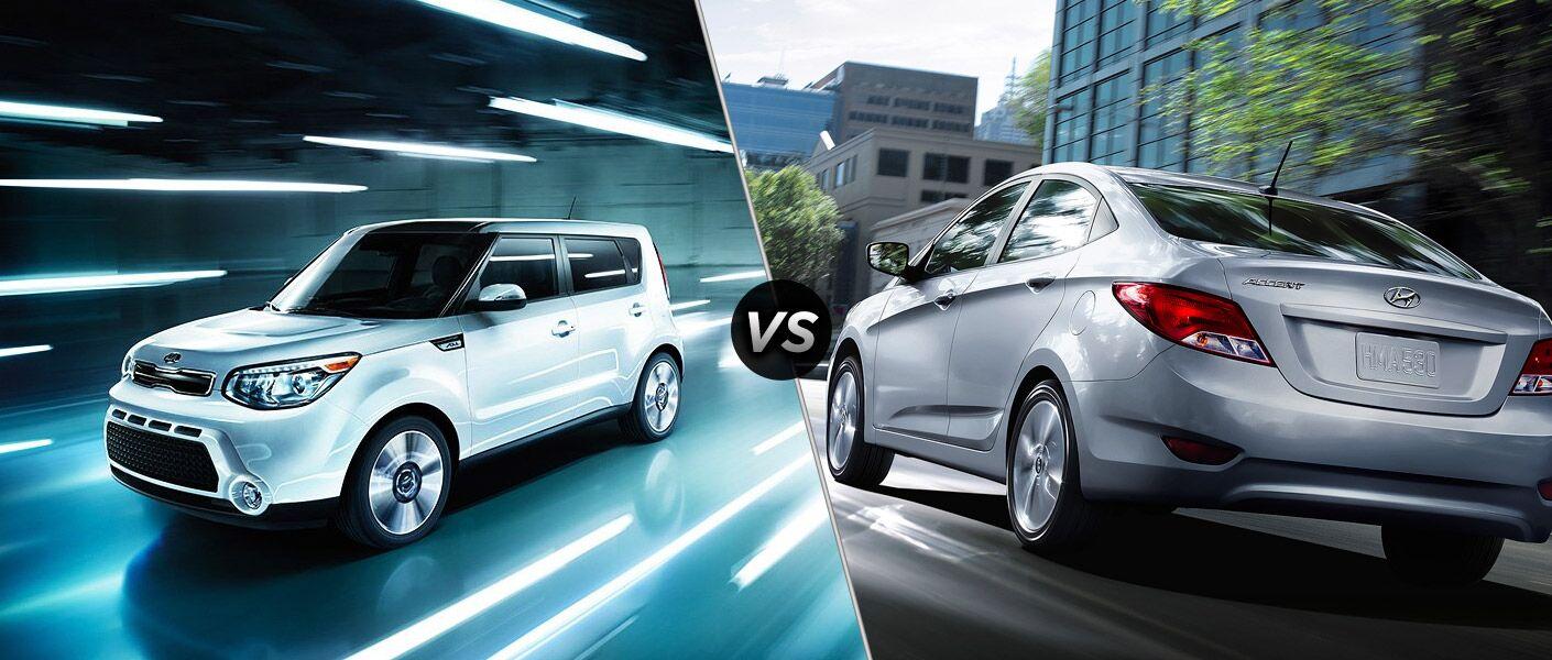 2016 Kia Soul vs 2016 Hyundai Accent