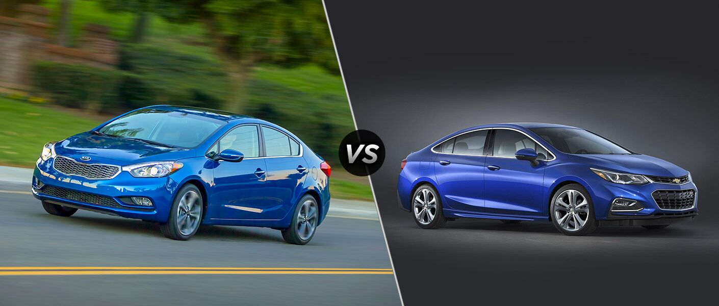 2016 Kia Forte vs 2016 Chevy Cruze