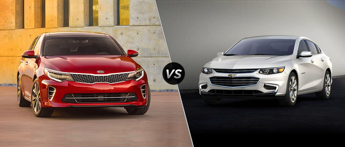 2016 Kia Optima vs 2016 Chevy Malibu