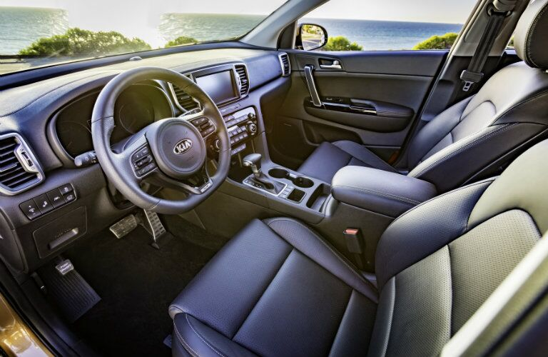 2017 Kia Sportage leather Interior Seats