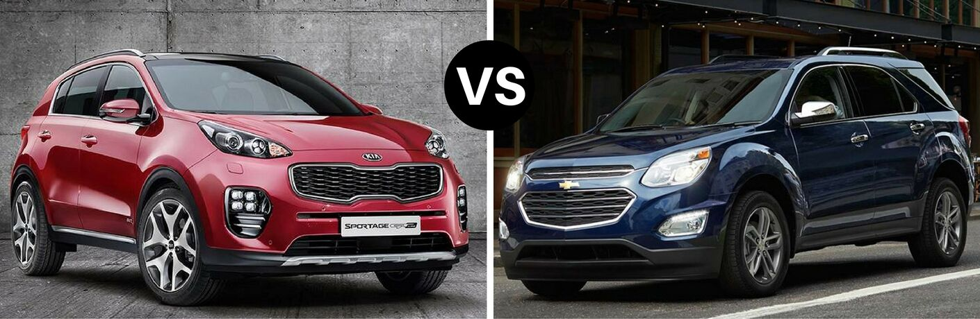 2017 Kia Sportage vs 2017 Chevy Equinox