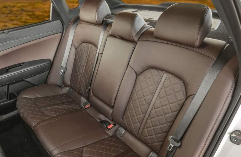 rear seats in 2018 Kia Optima