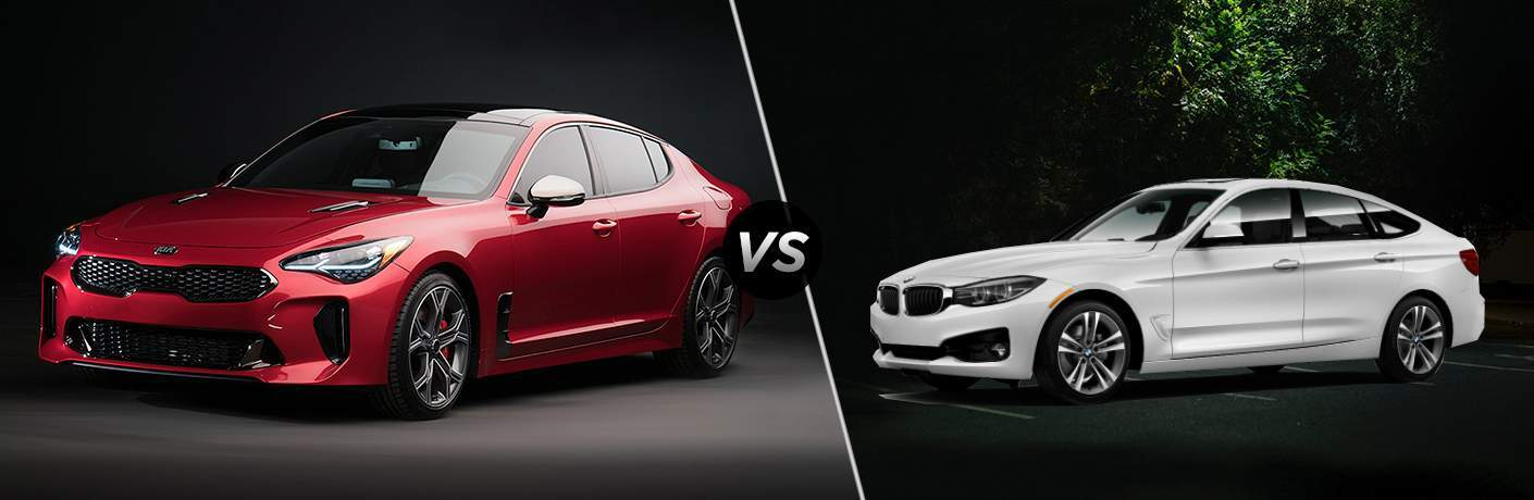 2018 Kia Stinger vs 2018 BMW 330 Gran Turismo