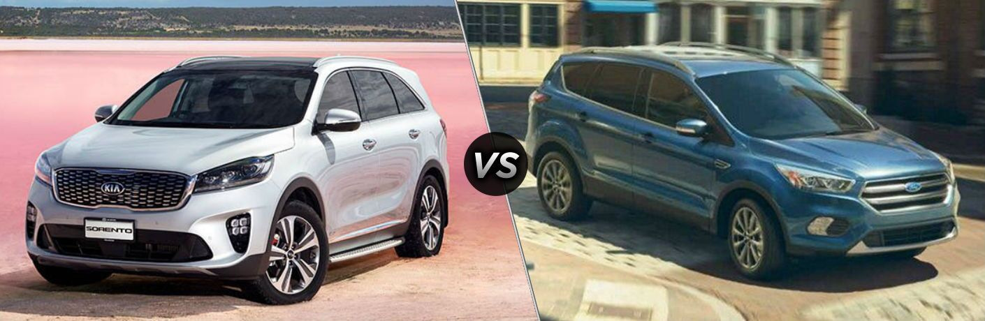 2019 Kia Sorento vs 2019 Ford Escape