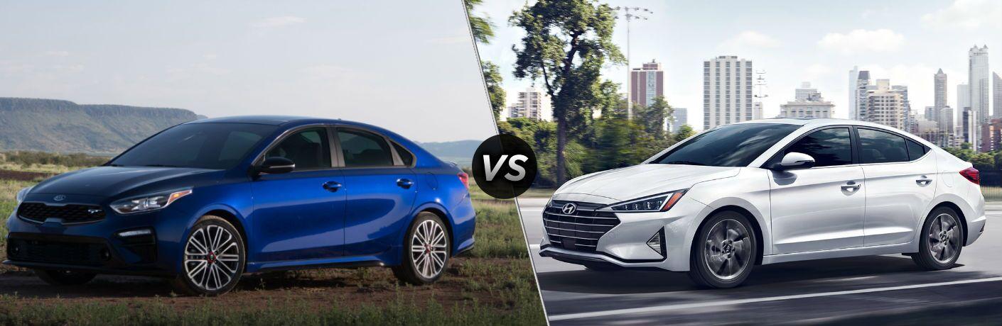 2020 Kia Forte vs 2020 Hyundai Elantra