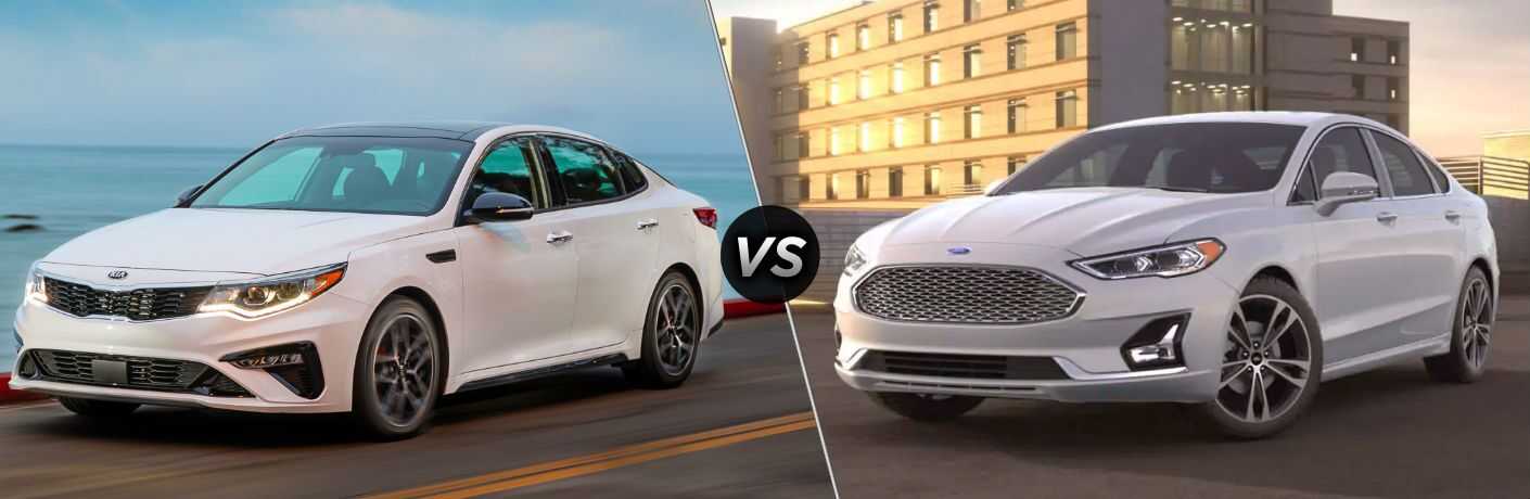 2020 Kia Optima vs 2020 Ford Fusion