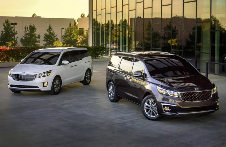 2016 Kia Sedona minivan ratings