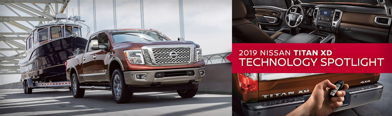 2019 Nissan Titan XD Technology Spotlight