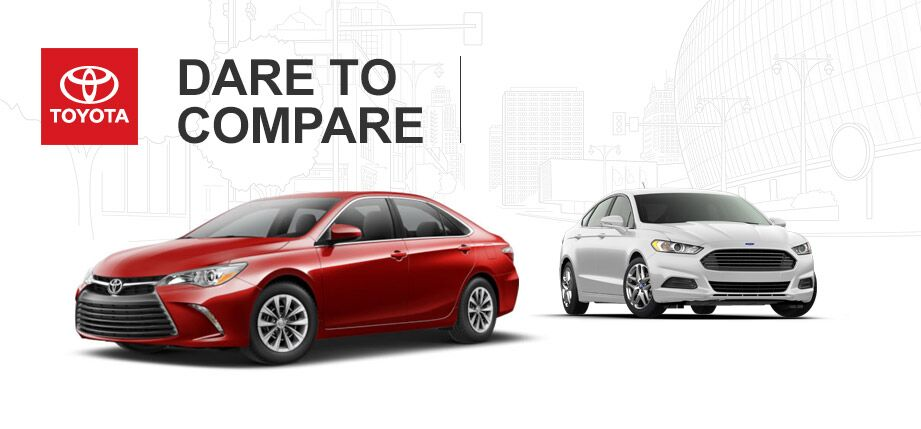 2015 Toyota Camry vs 2015 Ford Fusion