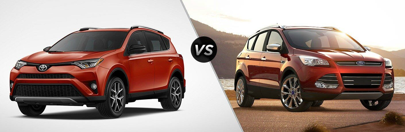 2017 Toyota RAV4 vs 2017 Ford Escape