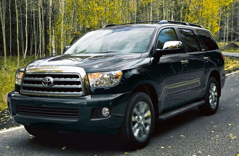 2016 Toyota Sequoia black