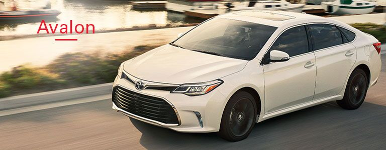 New Toyota Avalon link