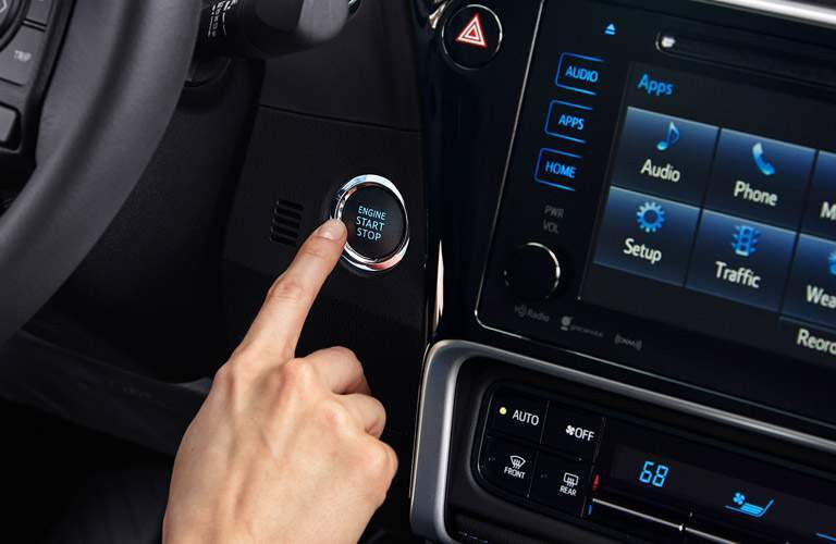 2017 toyota corolla with push button start