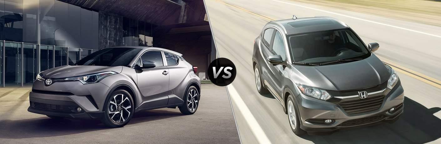 2018 Toyota C-HR vs 2017 Honda HR-V