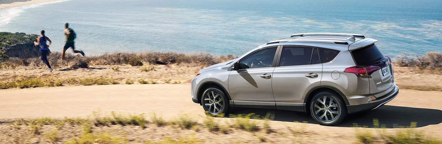 2018 Toyota RAV4 Hybrid Exterior Driver Side Profile Following Joggers