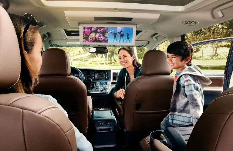 2018 Toyota Sienna Interior Cabin Rear Seat Entertainment System