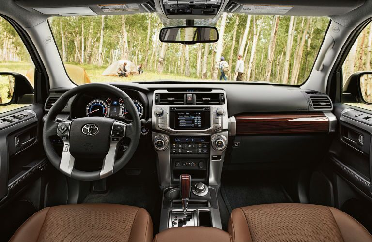 2019 Toyota 4Runner Interior Cabin Dashboard