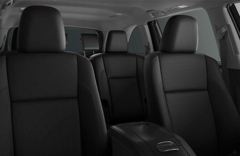 2019 Toyota Highlander Hybrid Interior Cabin Seating