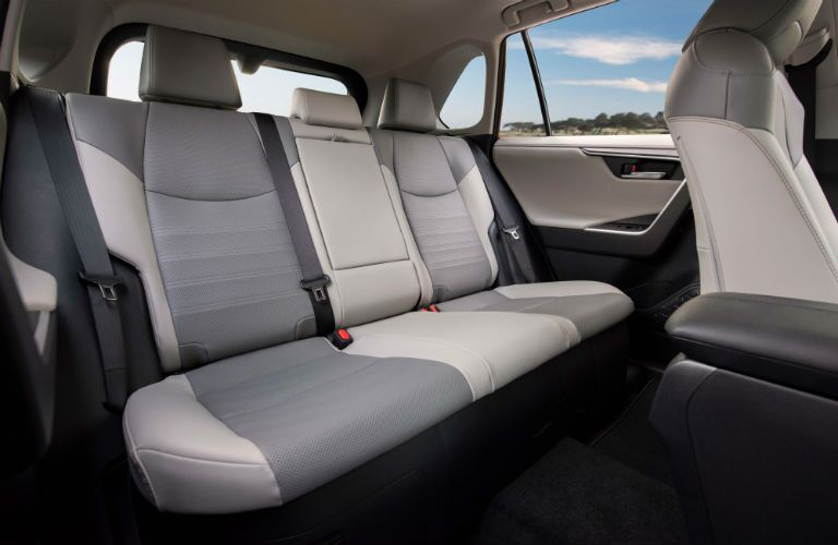 2019 Toyota RAV4 Hybrid Interior Cabin Rear Seating