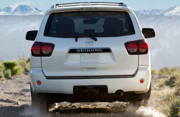 2020 Toyota Sequoia Exterior Rear Fascia