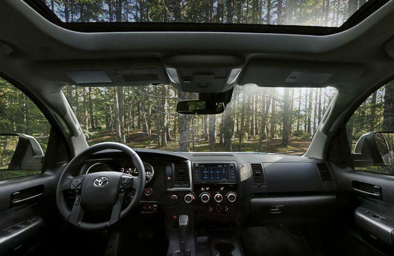 2020 Toyota Sequoia Interior Cabin Dashboard & Windshield