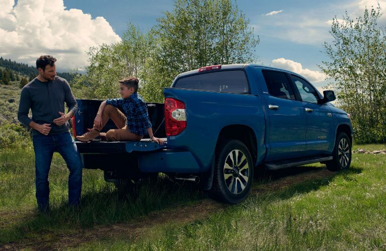 2020 Toyota Tundra Exterior Passenger Side Rear Profile