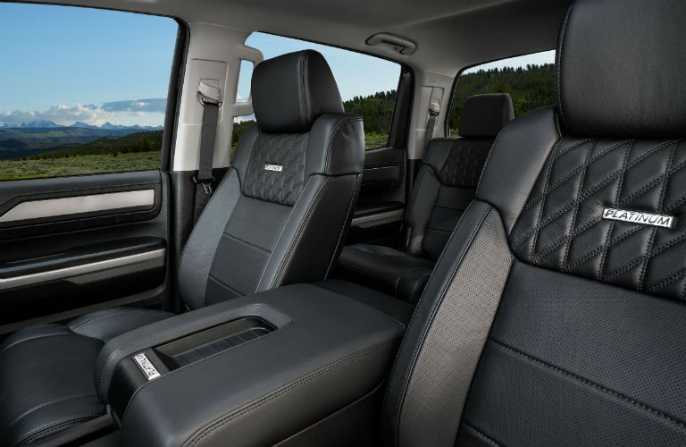 2020 Toyota Tundra Interior Cabin Front Seating