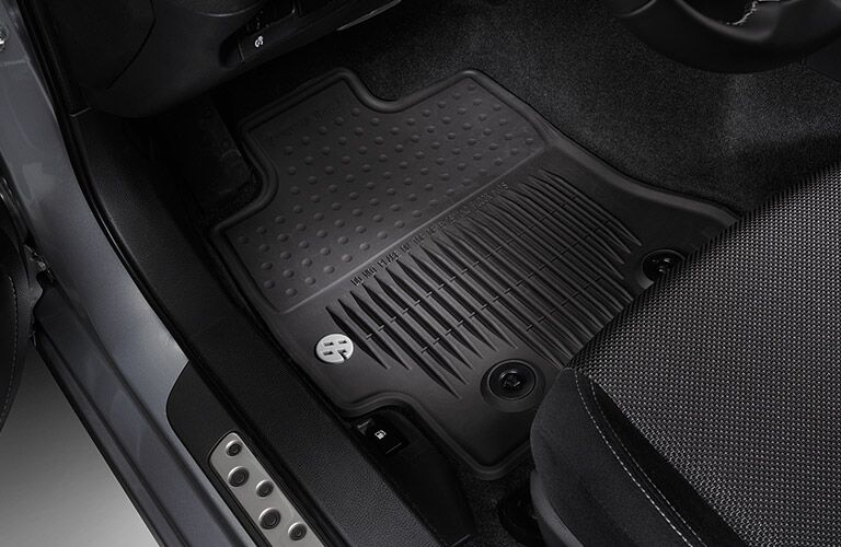 Special badging on floor mats in 2017 Toyota 86 in Moline, IL