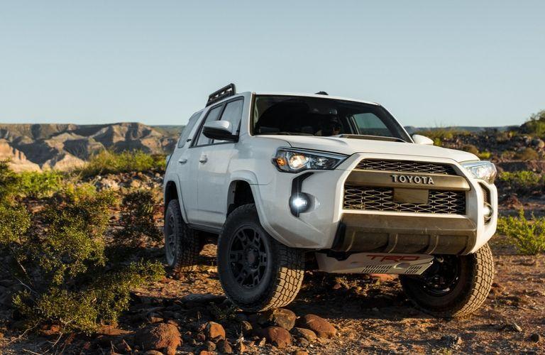 Toyota 4Runner TRD driving over rocks