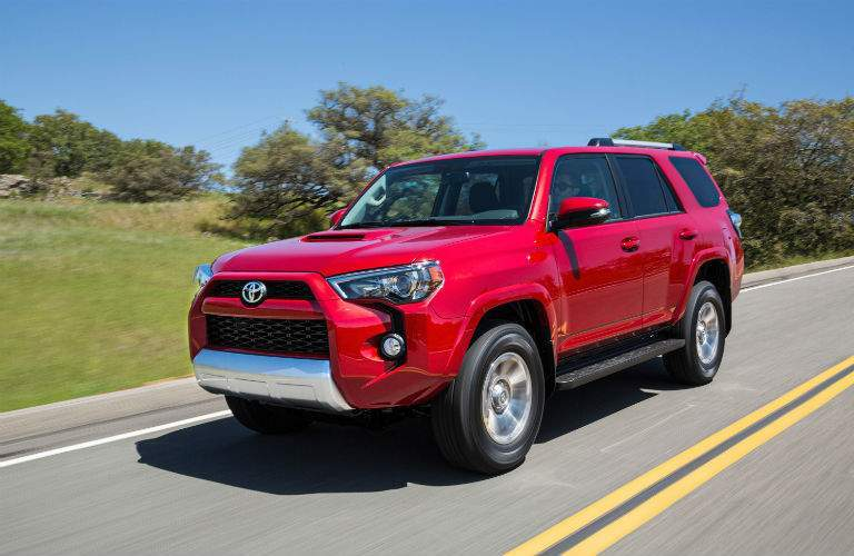2018 Toyota 4Runner Exterior Driver Side Front Profile