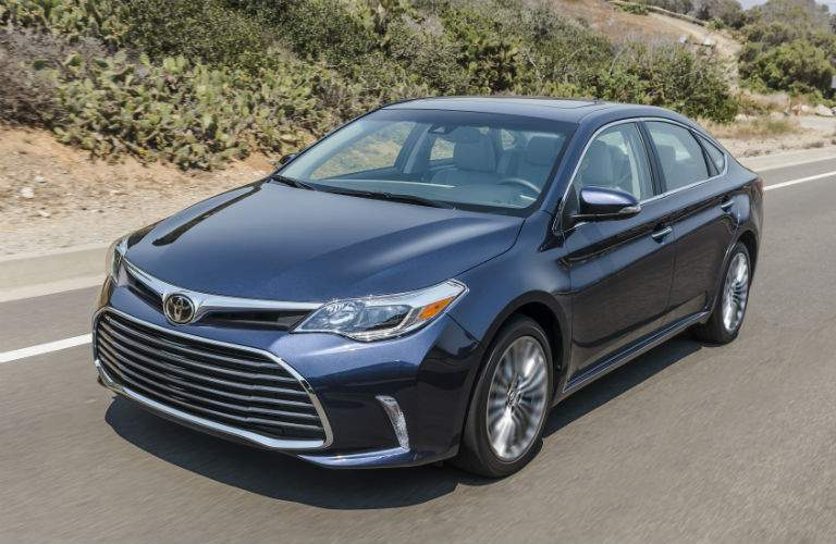 2018 Toyota Avalon Exterior Driver Side Front Profile