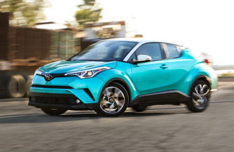 2018 Toyota C-HR Exterior Driver Side Front Profile