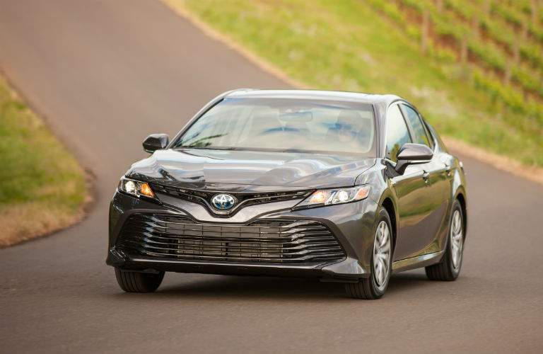 2018 Toyota Camry Hybrid Exterior Driver Side Front Angle